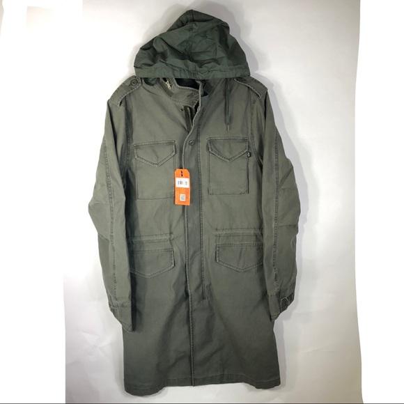 777a8529161 Alpha Industries Quartermaster Field Coat Long M65
